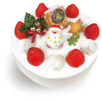 ★クリスマス★苺の生クリームデコレーション